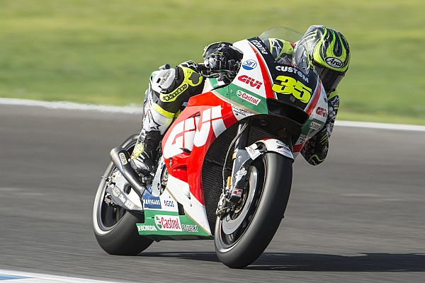 FP2 MotoGP Spanyol: Crutchlow tercepat, Marquez terjatuh