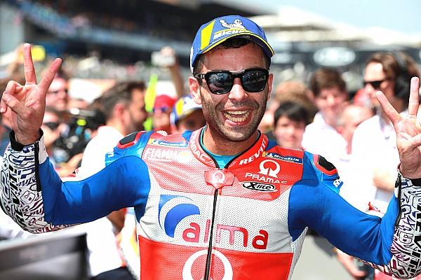 MotoGP Reactions Tak ingin ambil risiko, Petrucci pilih amankan podium