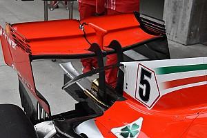 Fórmula 1 Análisis Ferrari y Mercedes muestran alerones traseros singulares para Bakú