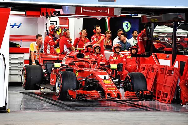 Fórmula 1 Raikkonen llama por teléfono a Cigarini, quien ya camina
