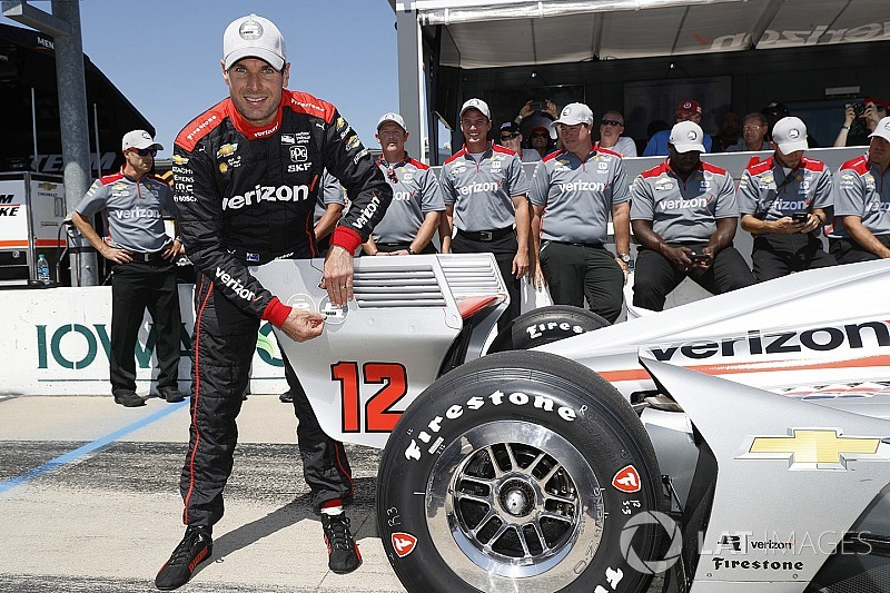 Iowa IndyCar: Power takes 52nd pole of career