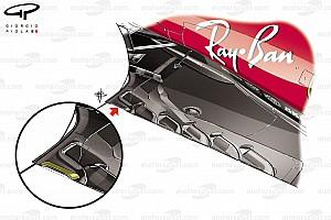 Formel 1 Analyse F1-Technik: Neuerungen bei Ferrari und Mercedes beim GP Belgien in Spa