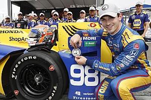 IndyCar Репортаж з кваліфікації IndyCar у Воткінс-Глен: перший поул Россі