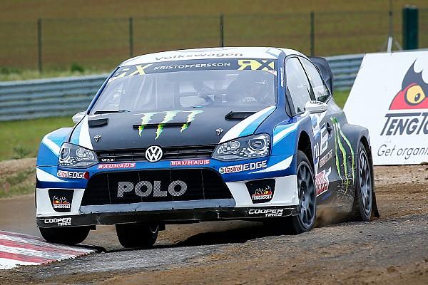 World Rallycross Résumé de course Kristoffersson domine toujours avant les demi-finales