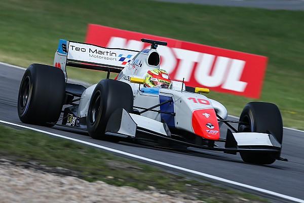 Палоу выиграл гонку в своем дебютном этапе Формулы V8 3.5