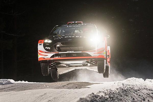 Ostberg bovenaan na shakedown Rally van Zweden