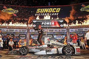 IndyCar Rennbericht IndyCar: Texas-Thriller mit Power-Sieg und Crash mit 8 Autos