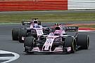 Para Sergio Pérez, Force India no mostró su ritmo real en Inglaterra