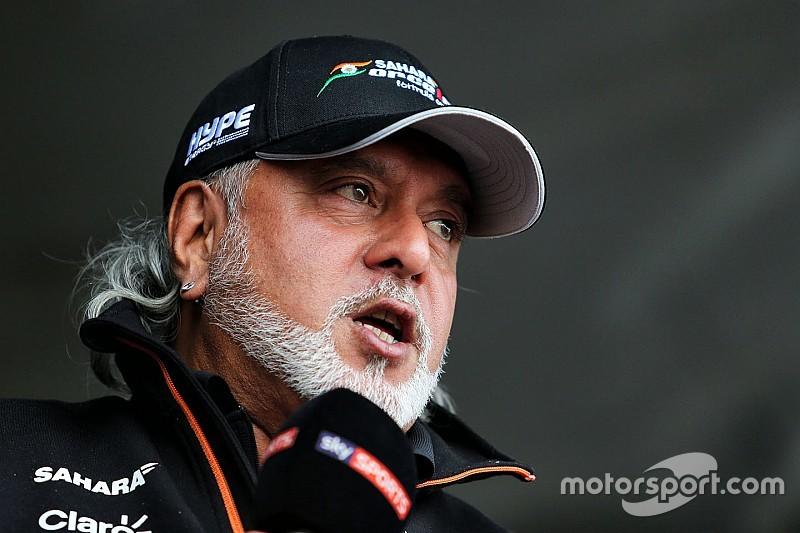 Mundur dari jabatan direktur, Mallya tetap bos Force India