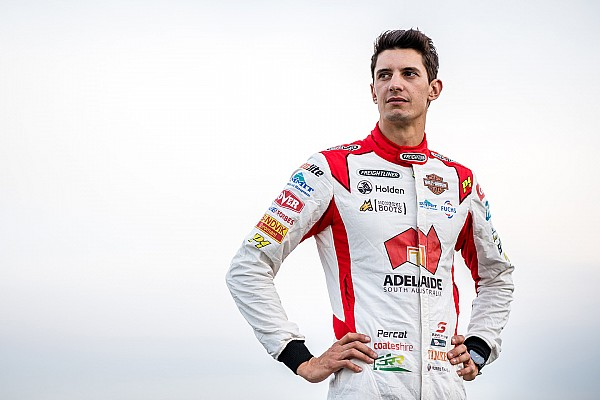Supercars Percat admits to 'fist pump' after topping practice