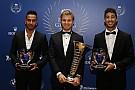 Videós összefoglaló videó az FIA Gáláról: Rosberg és a bajnoki trófea