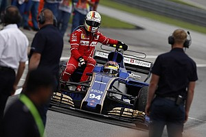 Formule 1 Réactions Vettel et Stroll se rejettent la responsabilité de l'accrochage