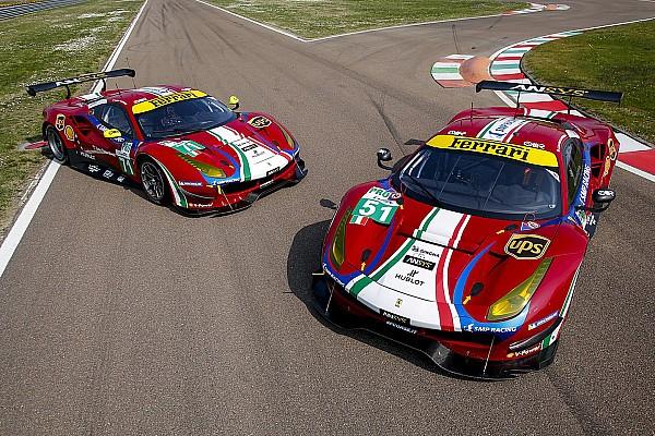WEC Noticias de última hora Ferrari vuelve a los colores de 1947 para el WEC 2017