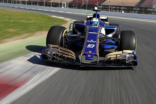 Формула 1 Важливі новини Sauber виграє першу гонку - C36 першим з'явився на трасі