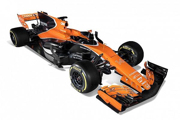 Formule 1 Nieuws McLaren-Honda toont auto met oranje en zwarte kleurstelling voor 2017