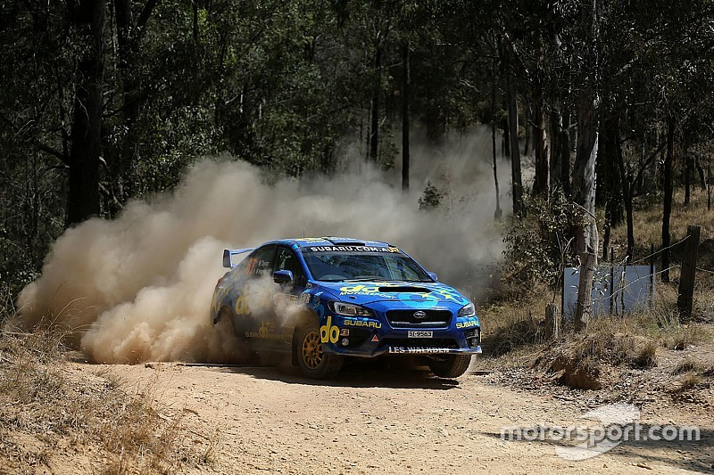 Taylor becomes first female Australian rally champion
