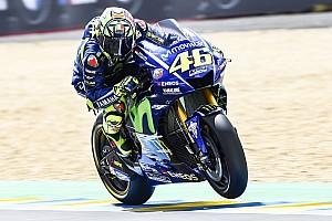 MotoGP News Valentino Rossi: Sturz in letzter Runde nicht der eigentliche Fehler