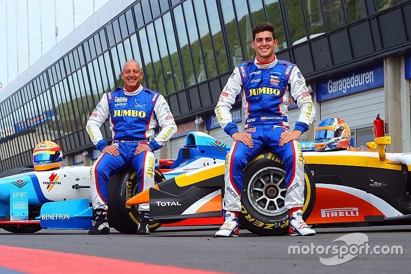Rinus Van Kalmthout In Actie Tijdens Jumbo Racedagen Driven By Max Verstappen