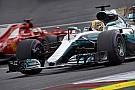 Hamilton over achterstand op Vettel: