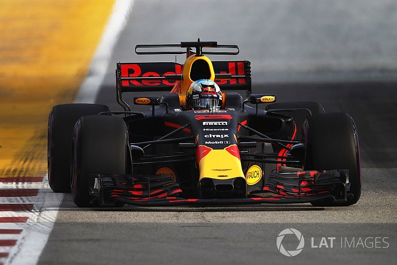 Formel 1 Singapur 2017: Geheimfavorit Red Bull setzt Bestzeit