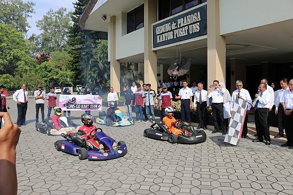 Universitas Sebelas Maret Surakarta resmikan tim gokart