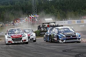 World Rallycross Réactions Loeb :