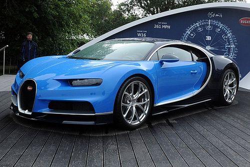 Bugatti propose l'essai de la Chiron