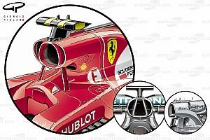 Formel 1 Analyse Formel-1-Technik: Ferrari vs. Mercedes beim GP Malaysia 2017