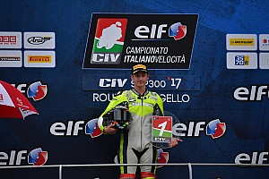 CIV Supersport Gara Luca Bernardi si laurea campione della Supersport 300 al Mugello