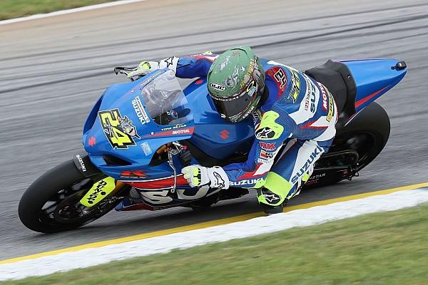 Bike Reporte de la carrera Elías sigue líder en MotoAmerica tras ganar en Atlanta