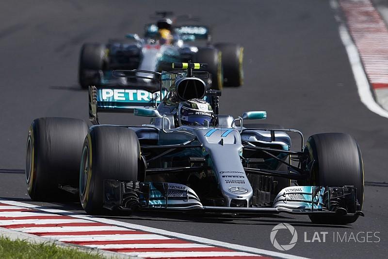 """Hamilton dice que Hungría lo motivó a para estar """"siempre"""" delante de Bottas"""