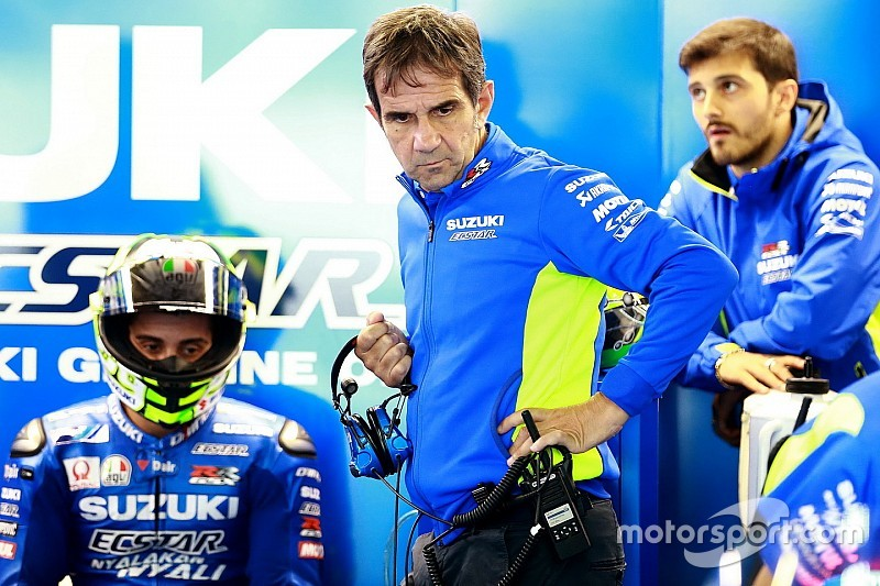 Iannone gegen Suzuki: Brivio spürt eine Menge