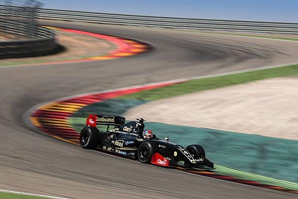 Formula V8 3.5 Reporte de la carrera Fittipaldi vuelve a la victoria en la F3.5 en Motorland