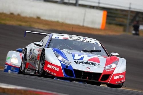 The first time a front-engined Honda conquered Super GT