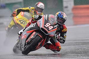 Moto2 Race report Brno Moto2: Folger wins in the wet, disaster for Zarco