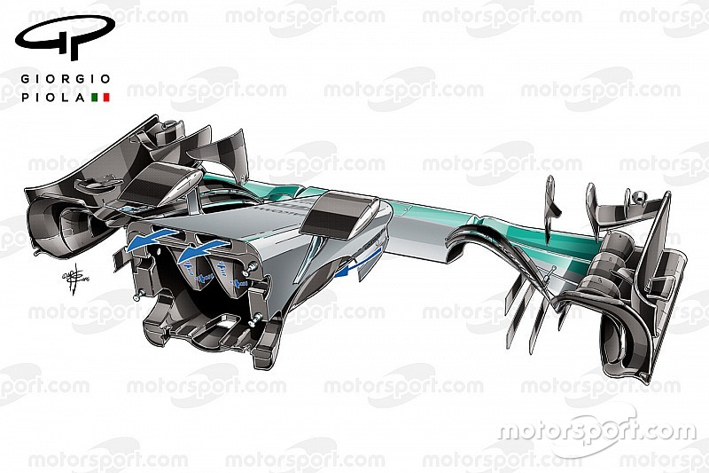 Análisis técnico: el truco del S-duct interno de Mercedes