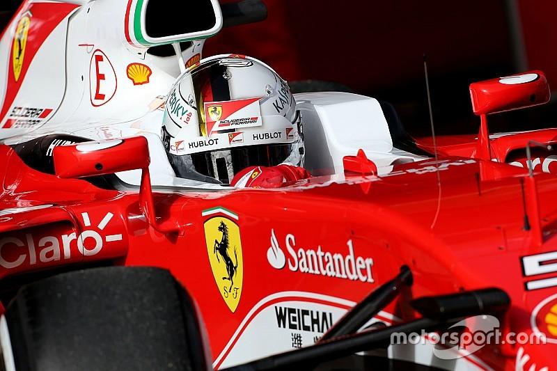 "Vettel says new Ferrari a ""step forward"""