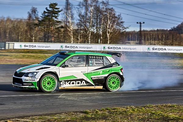 WRC Test Video Skoda: sulla Fabia R5 con Tidemand, iridato WRC2 2017