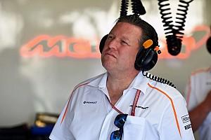 Formula 1 Son dakika Brown: McLaren 2018'de podyuma çıkabilir