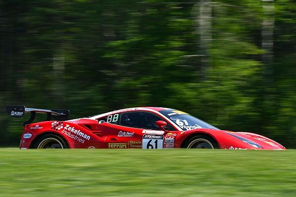 PWC Race report Lime Rock PWC: Porsche and Ferrari share GT SprintX spoils