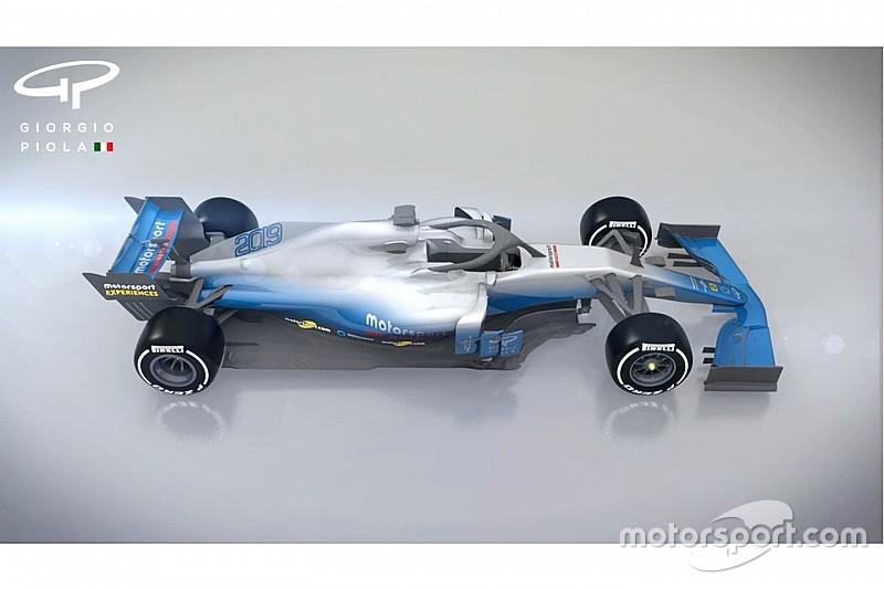 بالفيديو: كيف ستبدو سيارات الفورمولا واحد لموسم 2019