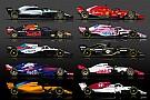 Fórmula 1 Galería: Estos son los equipos F1 2018