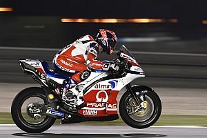 MotoGP Últimas notícias Em 3º, Petrucci se surpreende com primeira fila no Catar