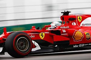 Formula 1 Breaking news Masalah di latihan, Vettel: Mobil terasa seperti