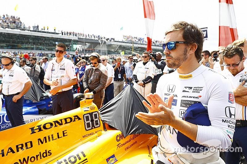Honda sluit ondersteuning Alonso in IndyCar niet uit