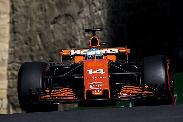 Fórmula 1 Últimas notícias McLaren deveria ter vencido em Baku, diz Alonso