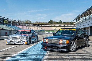 Automotive Breaking news Mercedes builds authentic 190E Evo II copy to thrash on track