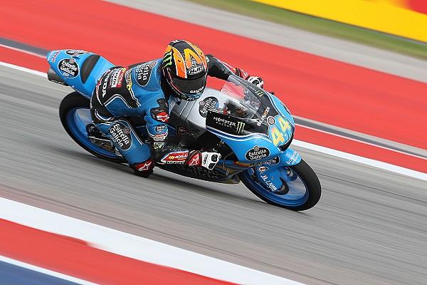Moto3 Qualifiche Canet frantuma il record di Austin e firma la pole, Fenati in prima fila