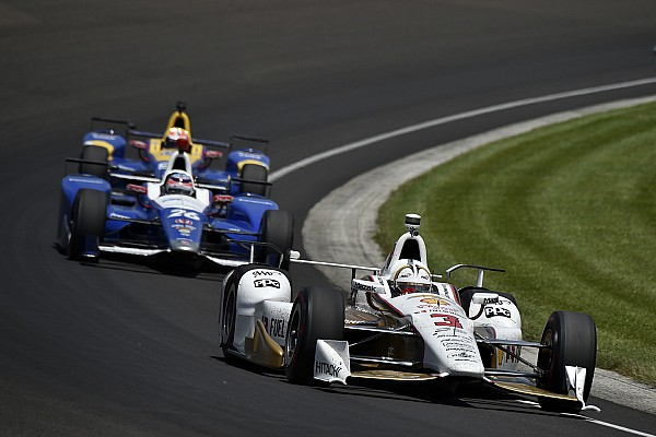 IndyCar Practice report Indy 500: Castroneves leads final practice on Carb Day
