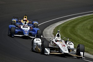IndyCar Отчет о тренировке Кастроневес стал лучшим в финальной тренировке Indy 500, Алонсо пятый